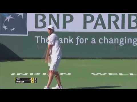 Mardy Fish Hot Shot At 2015 BNP Paribas Open - ATP Indian Wells 1st Round