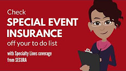 Special Event Insurance from SECURA