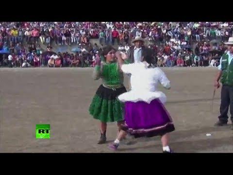 Takanakuy: festival de peleas en Perú para resolver conflictos