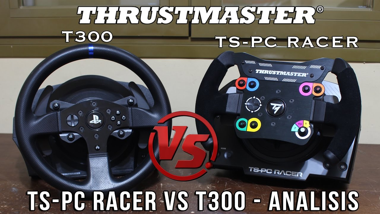thrustmaster ts pc vs t300 test f1 ferrari spa. Black Bedroom Furniture Sets. Home Design Ideas