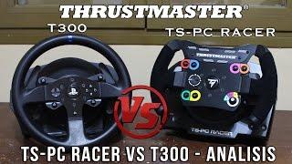 Thrustmaster TS-PC Vs T300 - Test F1 Ferrari @ Spa Francorchamps