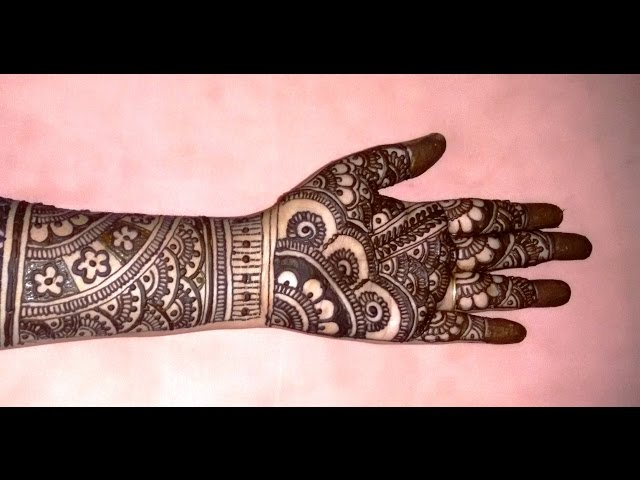 Best Mehndi Designs Simple Black Henna Designs In Pictures