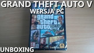 GTA 5 - Unboxing PL (Grand Theft Auto V na PC)