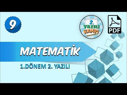 9. Sınıf Matematik | 1. Dönem 2.Yazılıya Hazırlık