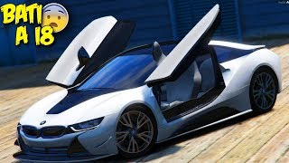 RALEI A BMW I8 DO MEU AMIGO & ROLE TOCANDO FUNK | GTA V : VIDA REAL #85