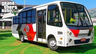 Video Micro-ônibus da Polícia  - GTA 5 Mods download MP3, 3GP, MP4, WEBM, AVI, FLV Januari 2018