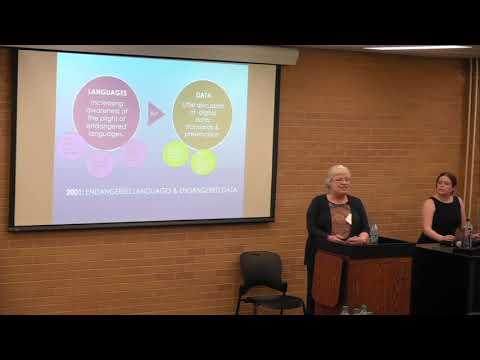 "Discovery Series: Helen Aristar-Dry ""Metadata & Digital Language Databases"""