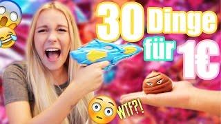 30 MEGA CRAZY Dinge für NUR 1€ GETESTET | Dagi Bee