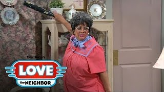 For Hattie and Danny, This Means War! | Tyler Perry's Love Thy Neighbor | Oprah Winfrey Network