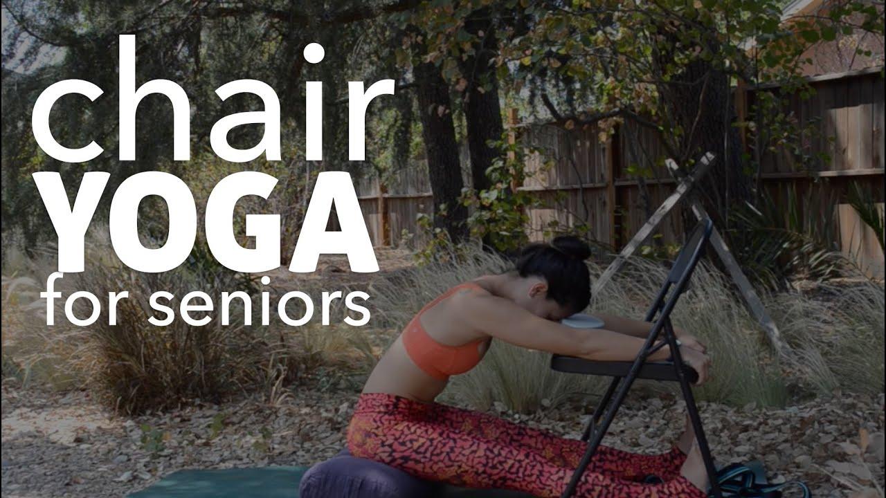 Youtube Chair Yoga Flexsteel Swivel Gentle For Seniors
