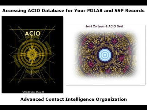 Accessing ACIO Database for Your MILAB and SSP Records