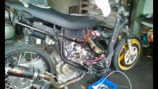 YAMAHA MIO drag (TOP SPEED 20 to 140KPH see it to believe)  tayug pangasinan by oweng.wmv