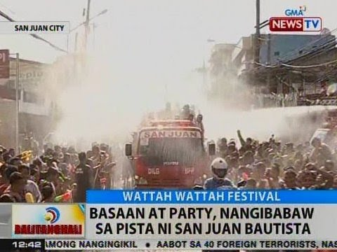 BT: Basaan at party, nangibabaw sa pista ni San Juan Bautista