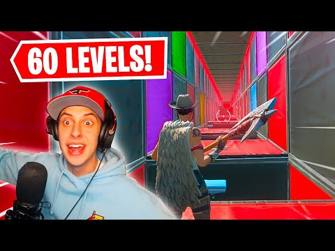 NEW DEATHRUN!! FaZe Cizzorz Plays 60 Level Deathrun (Fortnite Creative)