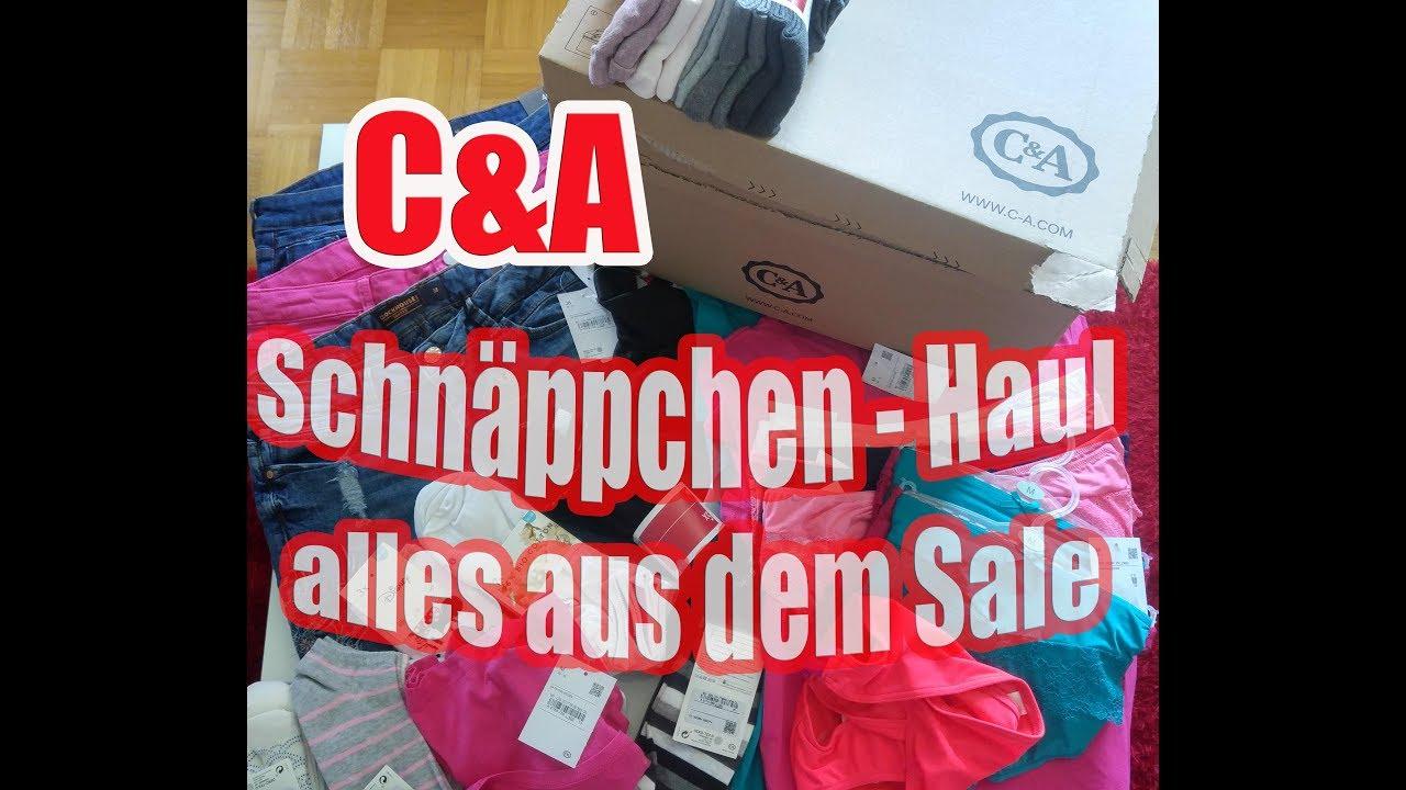 Ca Shopping Haul Schnäppchen Alles Reduzierte Ware Aus Dem Sale