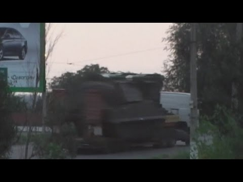 Flight MH17: Ukraine releases video of 'Buk missile unit'