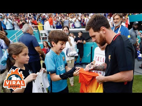 Leo Messi with