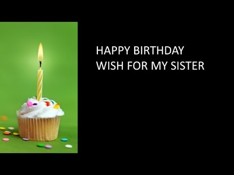 Birthday Card for Sister from Brother YouTube – Birthday Card for Brother from Sister