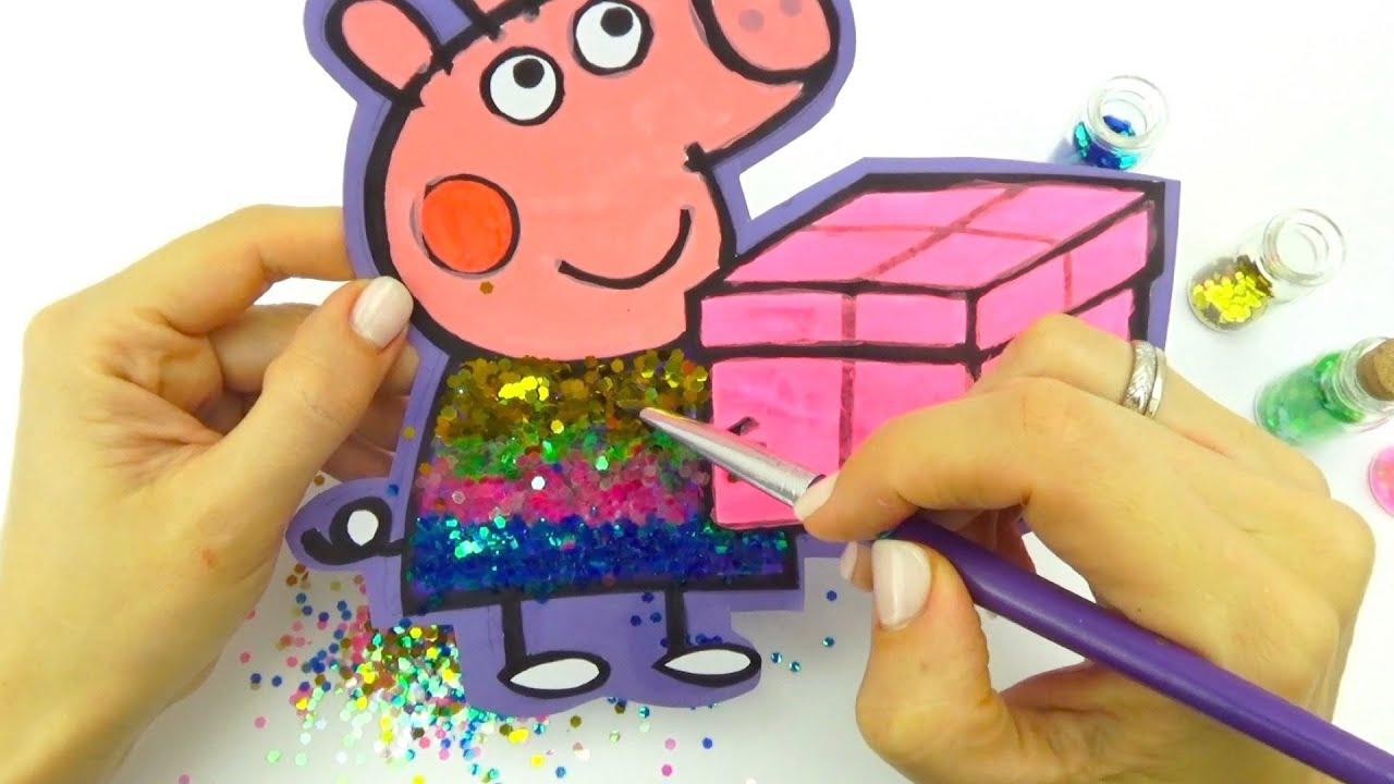 Сборник видео для детей с героями мультика Свинка Пеппа
