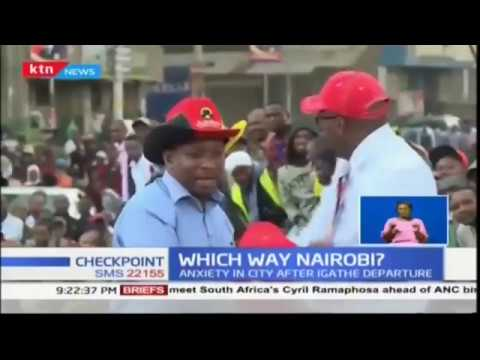 Which Way Nairobi:Anxiety in city after Igathe departure