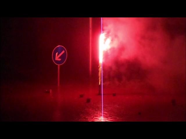 Witten-Annen: Neujahr 2019, Feuerwerk (1.1.2019)