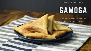 Samosa Chicken Recipe | Resepi Samosa Ayam Istimewa Ramadhan