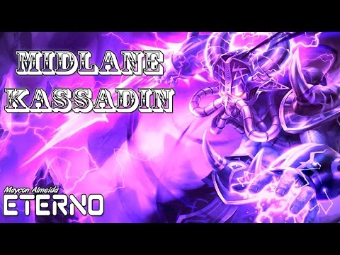 KASSADIN MID GAMEPLAY - 1000 DE AP - League of legends