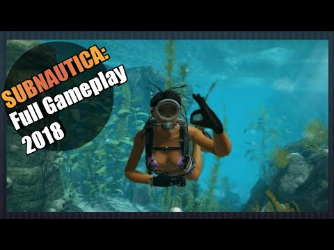 Subnautica Full Gameplay Released Ps4 2018 YouTube