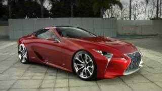 Lexus LF-LC Sports Coupe Concept 2012 Videos