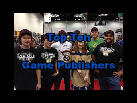 Top Ten Game Publishers - Board Game Brawl