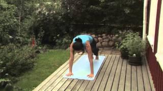 Yoga för alla - Teknik - Solhälsning B - Avancerad