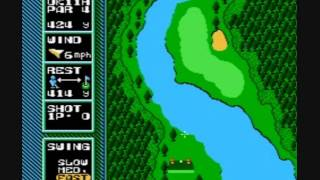 NES Open Tournament Golf - 1991 - Playthrough: U.K. Course