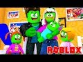 Zombie Roblox Family | Getting The Baby At The Hospital | Episode 2