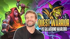 (Hearthstone) Quest Warrior VS Galakrond Warlock