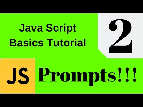 How to use Prompts. Javascript Tutorial | JSBS | thumbnail