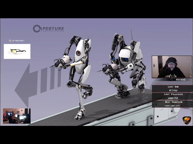 [REPLAY DU LIVE 🔴] IRL Sur Portal à l'ancienne !! Part #1