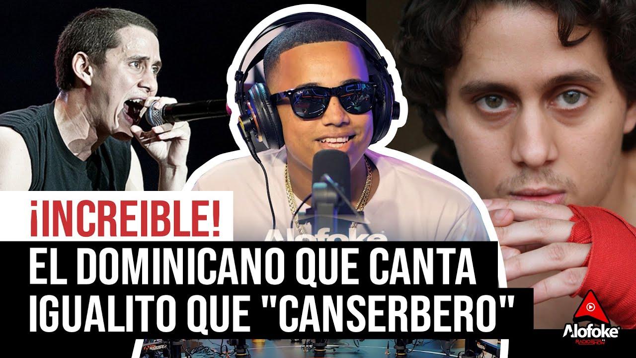 """INCREIBLE! EL DOMINICANO QUE RAPEA IGUAL QUE """"CANSERBERO"""""""
