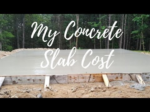 How Much Does A Concrete Slab Cost?