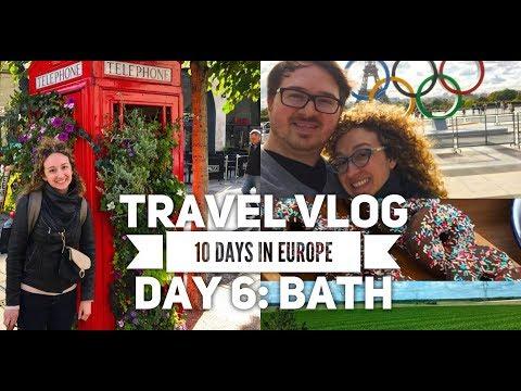 Travel VLOG: 10 Days in Europe - Day 6 - Bath