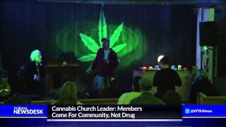 Inside The First Church Of Cannabis