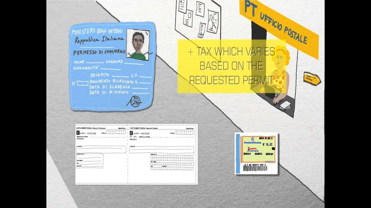 Work and permit to stay / Lavoro e permesso di soggiorno