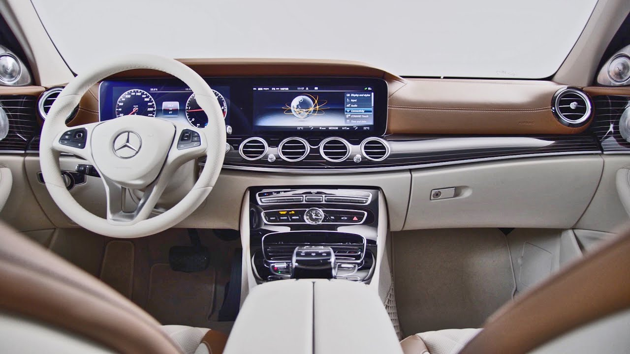 Mercedes E Cl 2017 Interiors