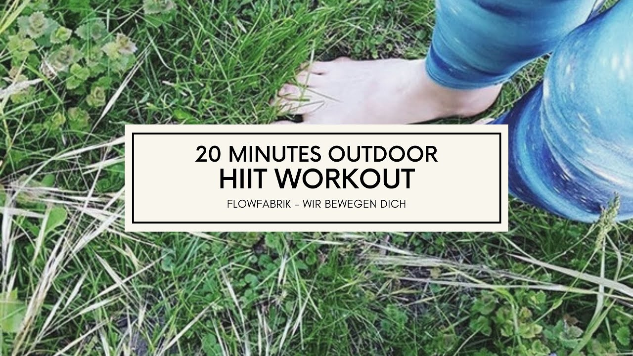 VIDEO: 20 minutes of HIIT