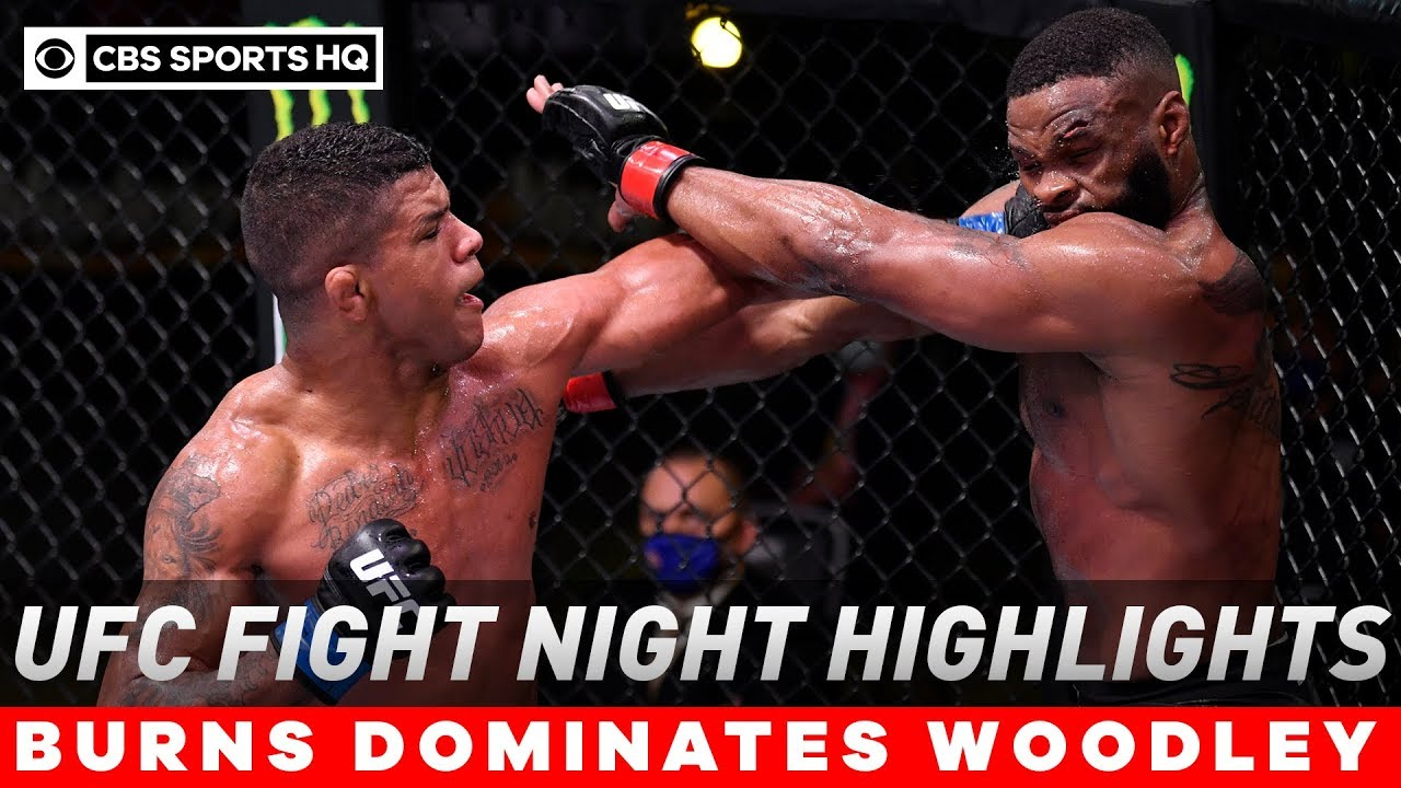UFC Fight Night results, highlights: Gilbert Burns dominates Tyron ...