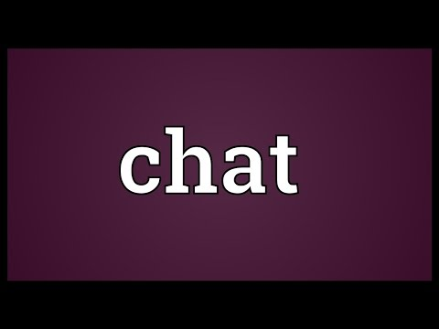 Chat Meaning