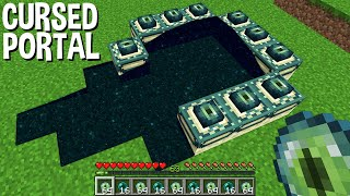 Most CURSED ENDER PORTAL In Minecraft !!!