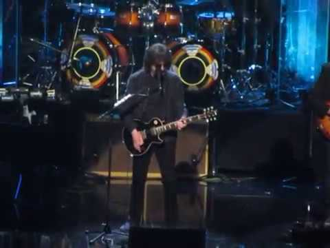 2017 Rock & Roll Hall of Fame -- Electric Light Orchestra complete Mr. Blue Sky