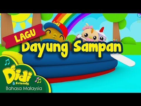 Lagu Kanak Kanak | Dayung Sampan | Didi & Friends