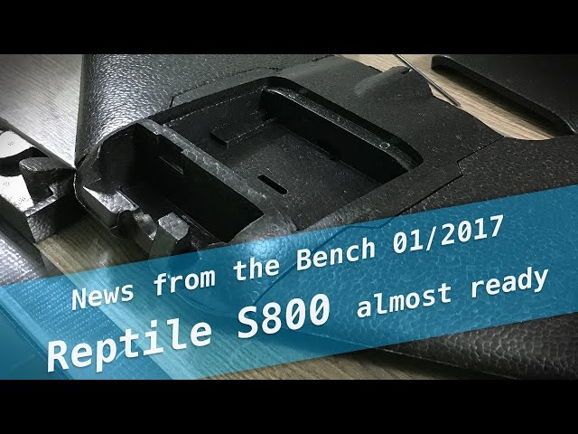 Heads-Up: Reptile S800 almost ready