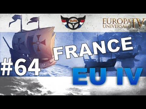 EU4 France - Big Blue Blob Achievement Run - ep64